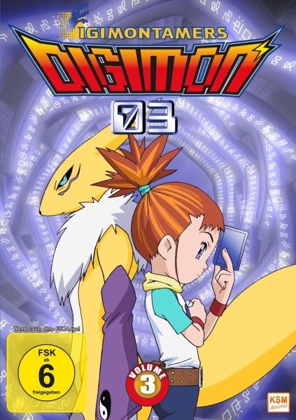 Digimon Tamers - Volume 3: Episode 35-51 (3 DVDs)