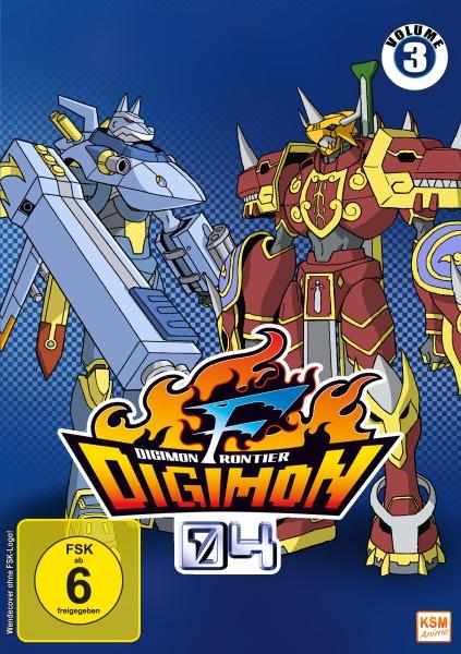 Digimon Frontier - Volume 3: Episode 35-50 (3 DVDs)