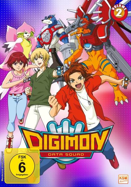 Digimon Data Squad - Volume 2: Episode 17-32 (3 DVDs)