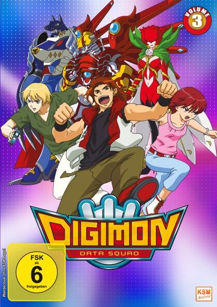 Digimon Data Squad - Volume 3: Episode 33-48 (3 DVDs)