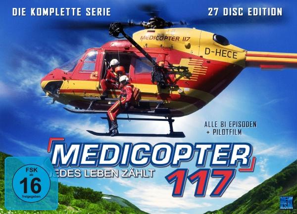 Medicopter 117 - Jedes Leben zählt - Gesamtedition (27 DVDs)