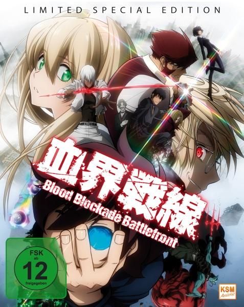 Blood Blockade Battlefront - Limited Edition - Vol. 1-3 (3 Blu-rays + 1 CD)
