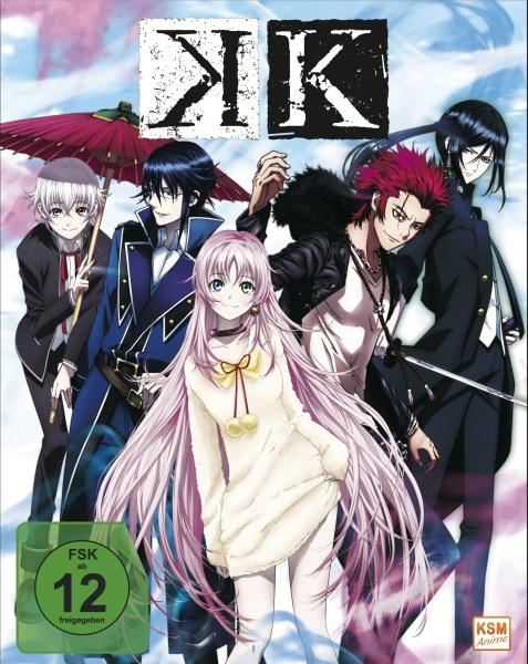 K - Staffel 1.1: Episode 01-05 (Blu-ray)