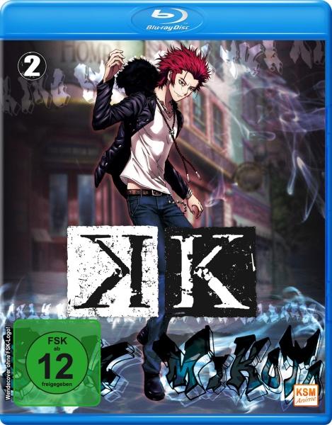 K - Staffel 1.2: Episode 06-09 (Blu-ray)