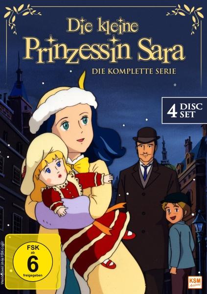 Die kleine Prinzessin Sara - Gesamtedition (4 DVDs)