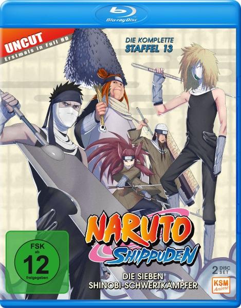 Naruto Shippuden - Die Sieben Shinobi-Schwertkämpfer - Staffel 13: Folge 496-509 (2 Blu-rays)