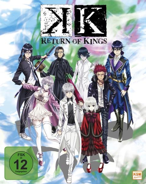 K - Return of Kings - Staffel 2.1 - Episode 01-05 (Sammelschuber) (Blu-ray)