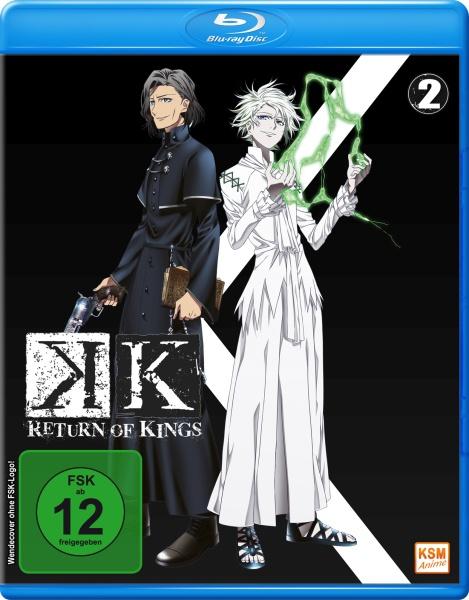 K - Return of Kings - Staffel 2.2 - Episode 06-09 (Blu-ray)