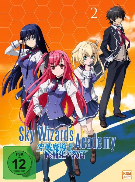 Sky Wizards Academy - Volume 2: Episode 07-12 + OVA (DVD)