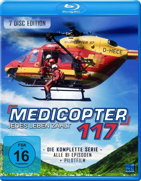 Medicopter 117 - Jedes Leben zählt - Gesamtedition (7 Blu-rays)