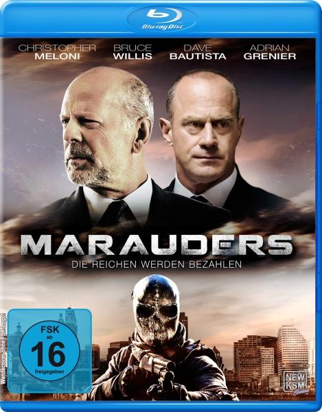 Marauders - Die Reichen werden bezahlen (Blu-ray)