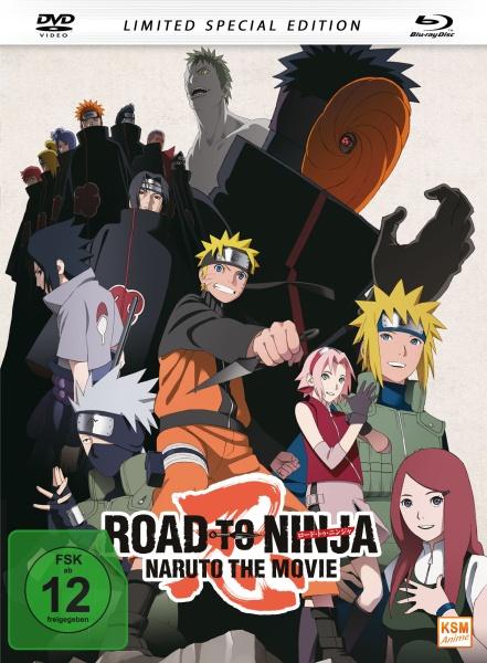 Road to Ninja - Naruto The Movie (2012) - Special Edition (Blu-ray+DVD)