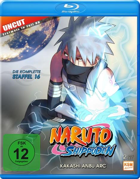 Naruto Shippuden - Kakashi Anbu Arc - Staffel 16 - Episode 569-581 (2 Blu-rays)