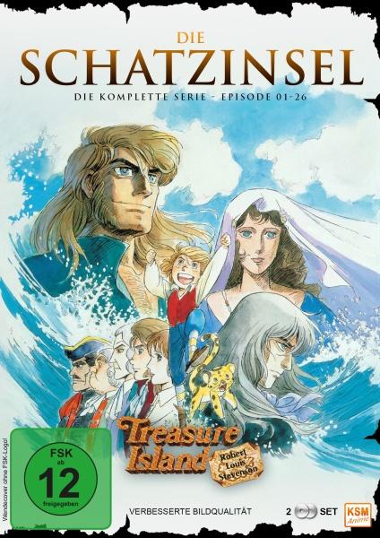 Die Schatzinsel - Complete Edition (2 DVDs)