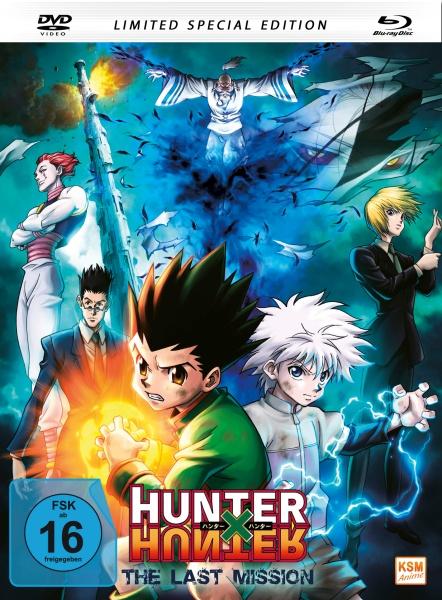 HUNTERxHUNTER - The last Mission - The Movie 2 - Special Edition (Mediabook) (Blu-ray+DVD)