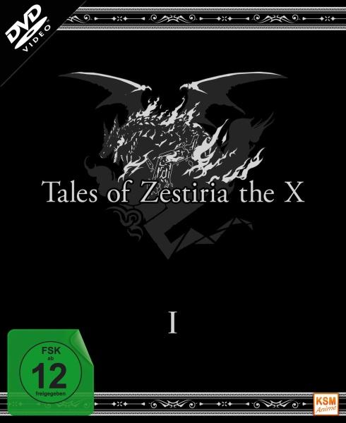 Tales of Zestiria - The X - Staffel 1: Episode 01-12 (3 DVDs)