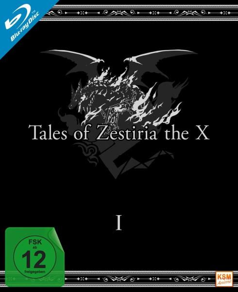 Tales of Zestiria - The X - Staffel 1: Episode 01-12 (3 Blu-rays)