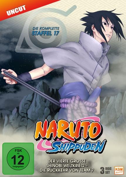 Naruto Shippuden - Der vierte große Shinobi Weltkrieg - Die Rückkehr von Team 7 - Staffel 17: Folge 582-592 (3 DVDs)