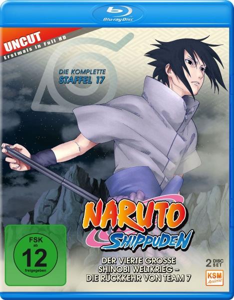 Naruto Shippuden - Der vierte große Shinobi Weltkrieg - Die Rückkehr von Team 7 - Staffel 17: Folge 582-592 (2 Blu-rays)
