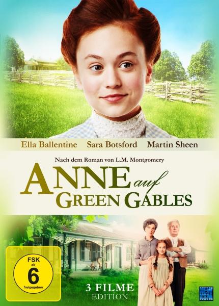 Anne auf Green Gables - Gesamtedition Teil 1-3 (3 DVDs)