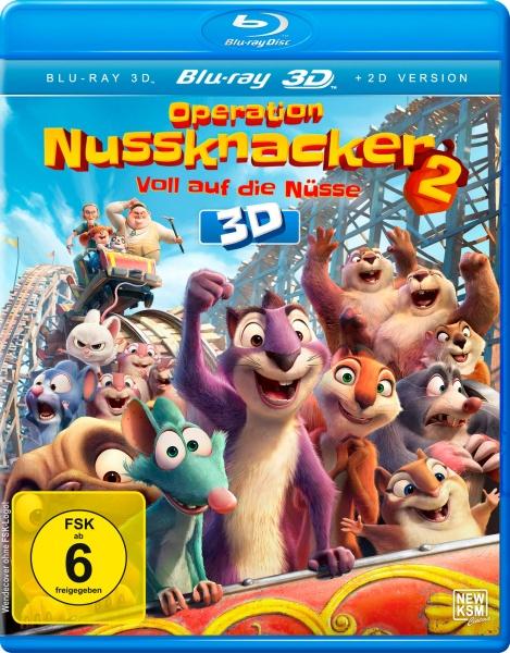 Operation Nussknacker 2 - Voll auf die Nüsse (3D Blu-ray)