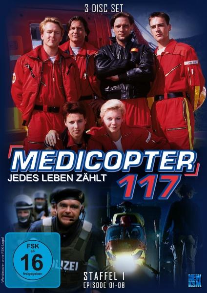 Medicopter 117 - Jedes Leben zählt - Staffel 1 - Episode 01-08 (3 DVDs)