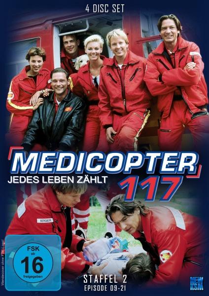 Medicopter 117 - Jedes Leben zählt - Staffel 2 - Episode 09-21 (4 DVDs)
