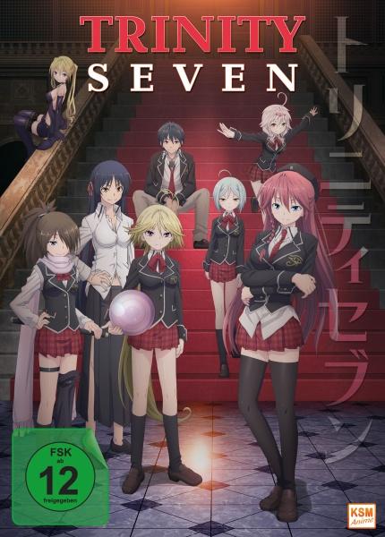 Trinity Seven - Gesamtedition: Episode 01-12 (3 DVDs)