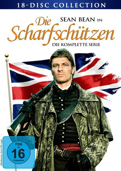 Die Scharfschützen - Gesamtedition Limited Edition (18 DVDs)
