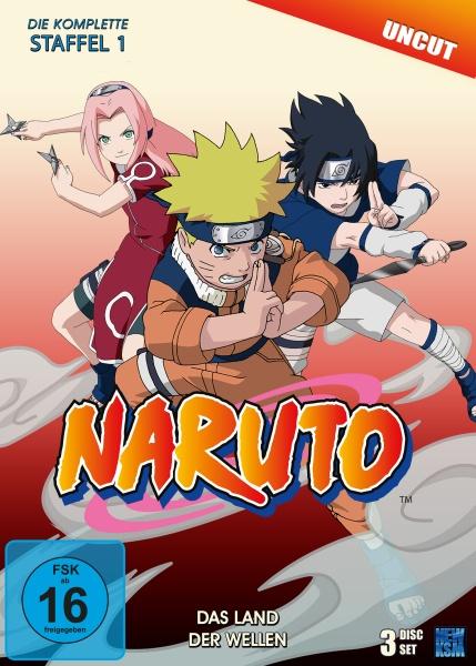 Naruto - Das Land der Wellen - Staffel 1: Folge 01-19 (3 DVDs)
