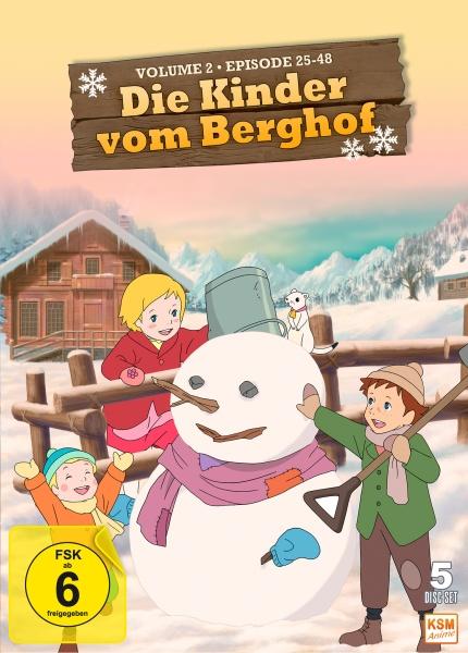 Die Kinder vom Berghof - Volume 2 - Episode 25-48 (5 DVDs)