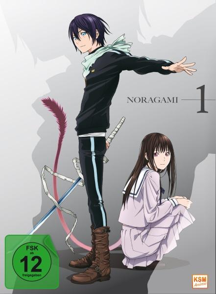Noragami - Staffel 1, Volume 1: Folge 01-06 (DVD)