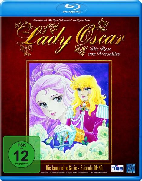 Lady Oscar - Die Rose von Versailles - Gesamtedition (Blu-ray)