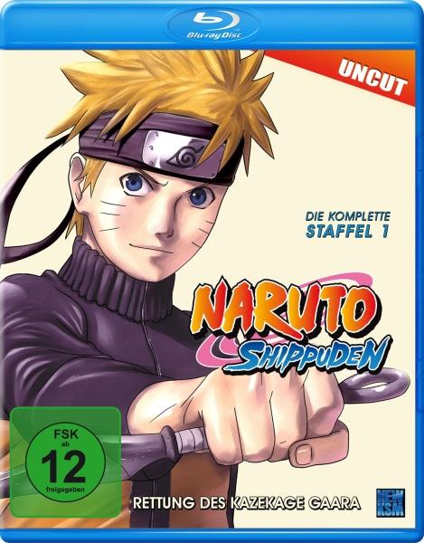 Naruto Shippuden - Rettung des Kazekage Gaara - Staffel 01: Folge 221- 252 (Blu-ray)