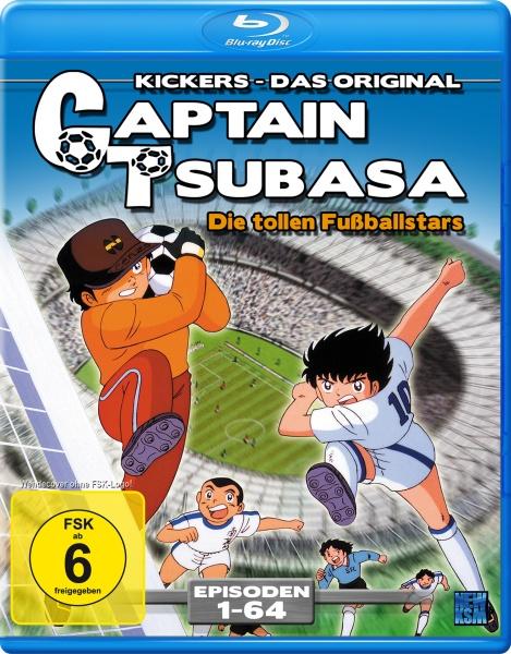 Captain Tsubasa - Die tollen Fußballstars - Episode 01-64 (Blu-ray)
