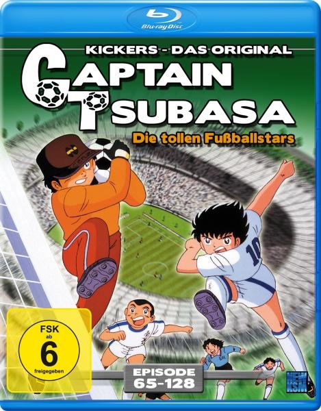 Captain Tsubasa - Die tollen Fußballstars - Episode 65-128 (Blu-ray)