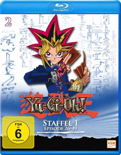 Yu-Gi-Oh! - Staffel 1.2: Episode 26-49 (Blu-ray)