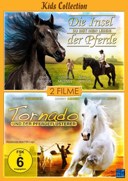 Kids Collection - Die Insel der Pferde + Tornado und der Pferdeflüsterer - 2auf1 (DVD)