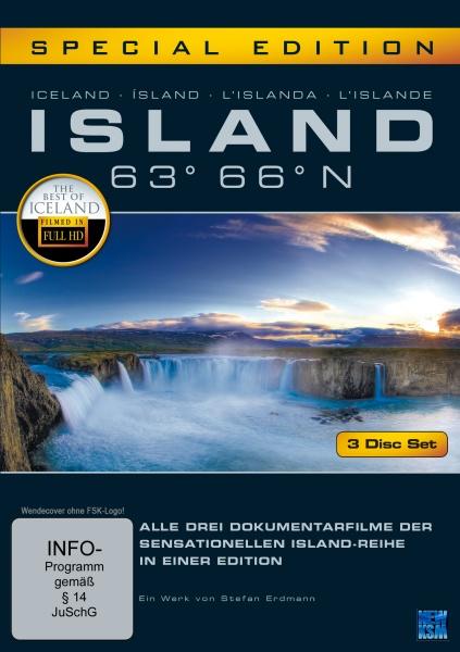 Island 63° 66° N - Gesamtbox (3 DVDs)