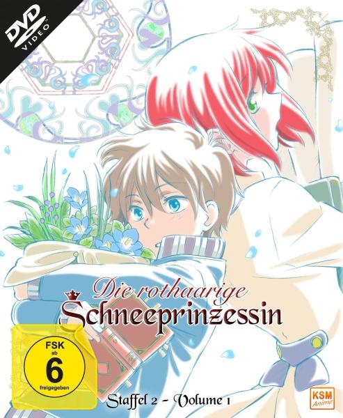 Die rothaarige Schneeprinzessin - Staffel 2, Volume 1: Episode 01-04 (DVD)
