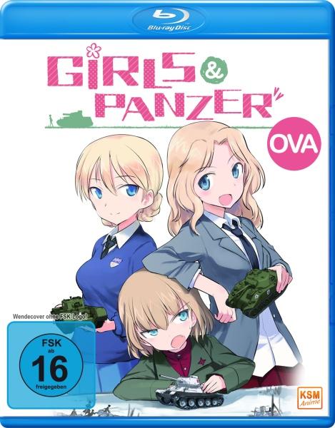 Girls und Panzer - Volume 4: OVA Collection (Blu-ray)