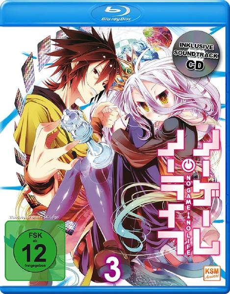 No Game No Life - Volume 3: Episode 09-12 (Blu-ray+CD)