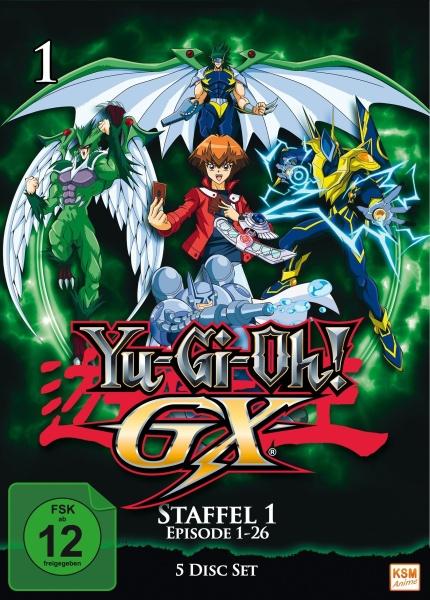 Yu-Gi-Oh! GX - Staffel 1.1: Episode 01-26 (5 DVDs)