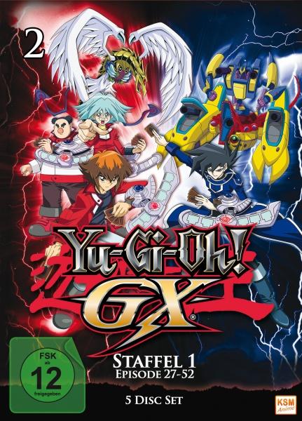 Yu-Gi-Oh! GX - Staffel 1.2: Episode 27-52 (5 DVDs)