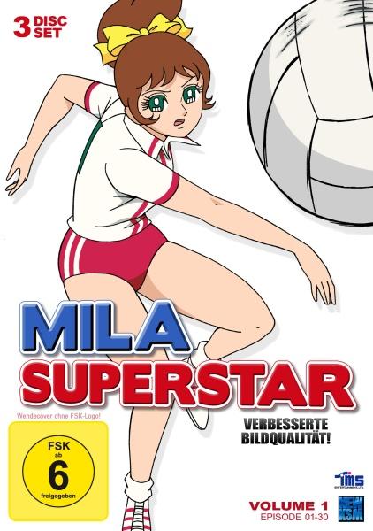 Mila Superstar - Volume 1: Episode 01-30 (3 DVDs)