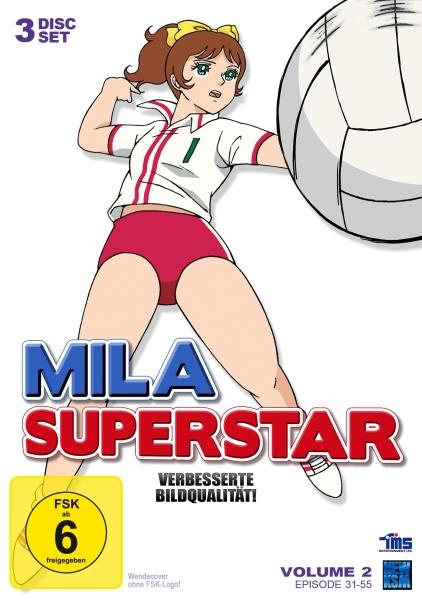 Mila Superstar - Volume 2: Episode 31-55 (3 DVDs)