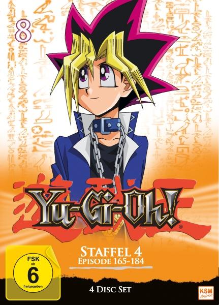 Yu-Gi-Oh! - Staffel 4.2: Episode 165-184 (4 DVDs)