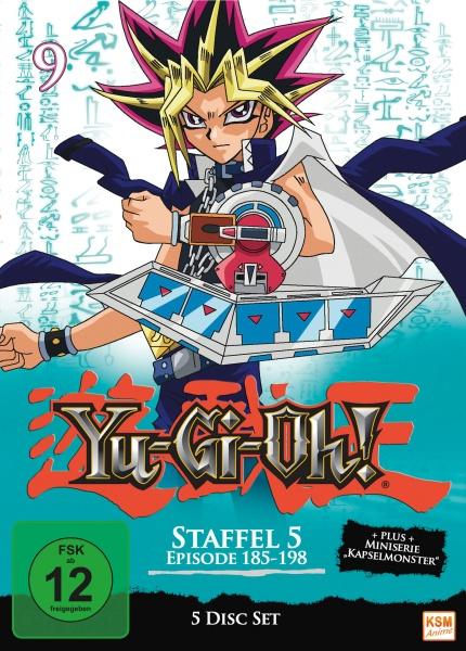 Yu-Gi-Oh! - Staffel 5.1: Episode 185-198 (5 DVDs)