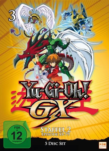 Yu-Gi-Oh! GX - Staffel 2.1: Episode 53-79 (5 DVDs)
