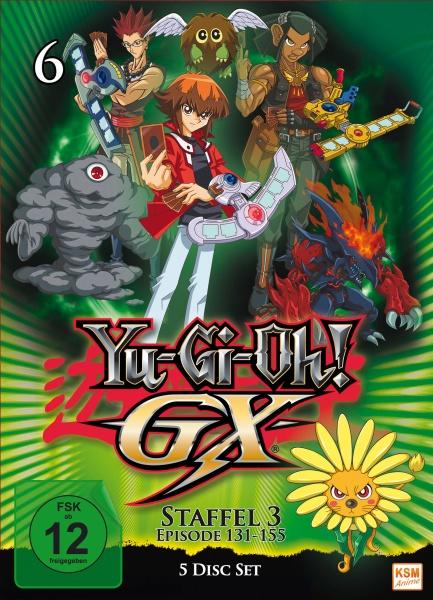 Yu-Gi-Oh! GX - Staffel 3.2: Episode 131-155 (5 DVDs)
